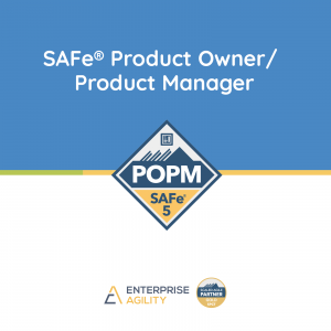 SAFe Product Owner Product Manager com Certified SAFe® Product Owner Product Manager