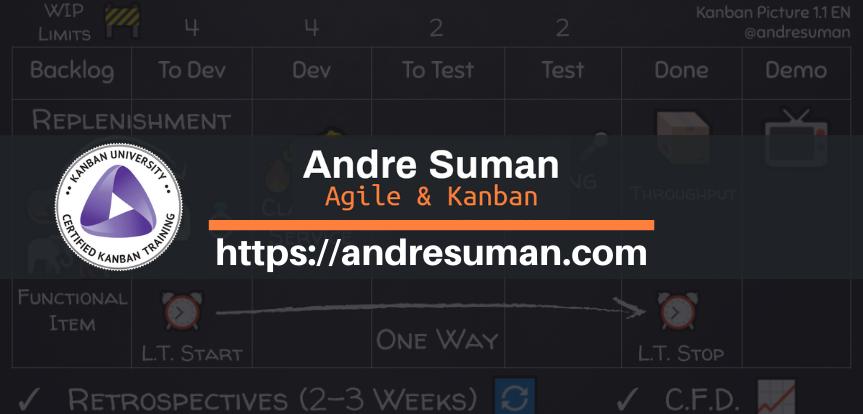 Andre Suman - Agile & Kanban
